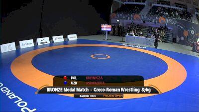 87kg Bronze - Rustam Assakalov vs Arkadiusz Kulynycz, POL