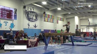 Piper Slocum - Beam, Discover - 2021 Region 3 Women's Championships