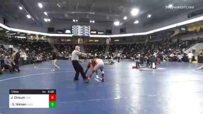 174 lbs Prelims - Jordan Chisum, North Central College vs Solomon Nielsen, Augsburg University