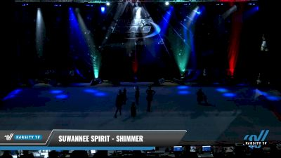 Suwannee Spirit - Shimmer [2021 L1.1 Youth - PREP - Small - A Day 2] 2021 The U.S. Finals: Pensacola
