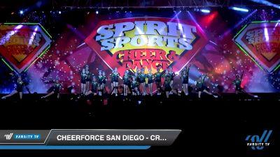 CheerForce San Diego - Craze [2020 L3 Youth Day 1] 2020 Spirit Sports: Duel In The Desert