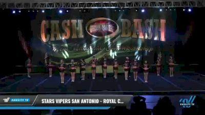 Stars Vipers - San Antonio - Royal Cobras [2021 L5 Senior Coed Day 2] 2021 ACP Cash Bash Championship