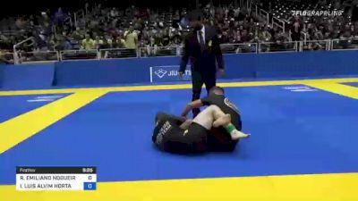 RICHAR EMILIANO NOGUEIRA vs IGHOR LUIS ALVIM HORTA 2021 World IBJJF Jiu-Jitsu No-Gi Championship
