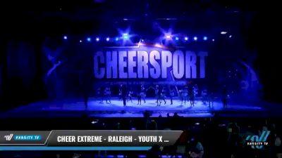 Cheer Extreme - Raleigh - Youth X Sharkbites [2021 L3 Youth - Medium Day 2] 2021 CHEERSPORT National Cheerleading Championship