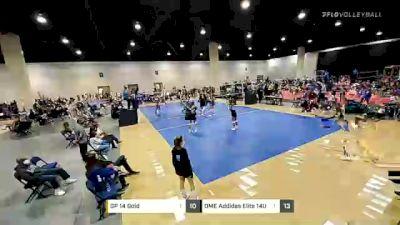 DME Adidas Elite 14U Blue vs Brandon Elite 14 Green - 2021 Nike Daytona Beach 100