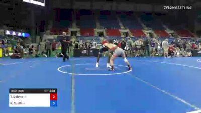 126 lbs Consi Of 8 #2 - Trason Oehme, South Dakota vs Keith Smith, Nebraska