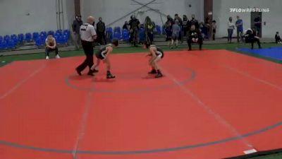 55 lbs 3rd Place - Liam Arroyo, Olympic vs Joseph Messina, Cedar Grove