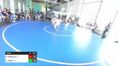 160 lbs Rr Rnd 3 - Kai Pellegrino, Dirty Birds vs Sonny Motas, Rbwc
