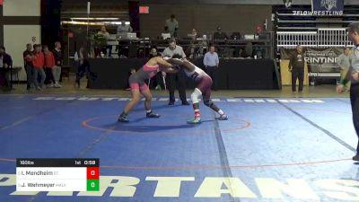 160 lbs 5th Place - Ibraheim Mendheim, St. Benedict`s Prep vs Jack Wehmeyer, Malvern Prep