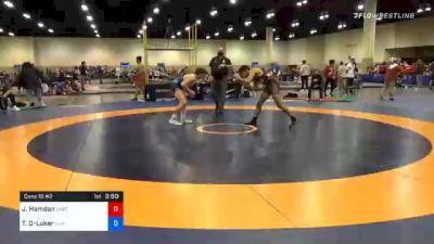 61 kg Consolation - Jordan Hamdan, Unattached vs Timothy Decatur-Luker, Unattached