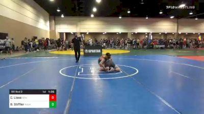 136 lbs Prelims - Casey Liess, New York vs Blue Stiffler, Roundtree Wrestling Academy