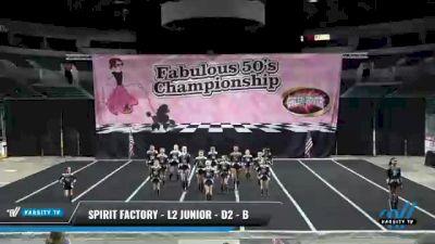 Spirit Factory - L2 Junior - D2 - B [2021 Blackout] 2021 ACP Disco Open Championship: Trenton
