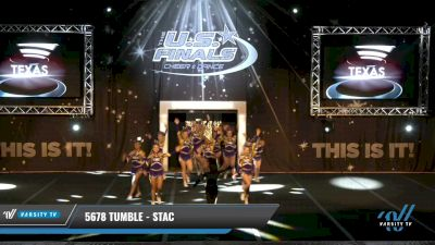 5678 Tumble - STAC [2021 L2.2 Junior - PREP 2] 2021 The U.S. Finals: Grapevine