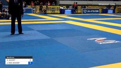 HANNAH SHARP vs JENA RAE BISHOP 2019 World IBJJF Jiu-Jitsu No-Gi Championship
