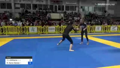 Yi Liu-Williams vs Rachel Karen Banes 2021 Pan IBJJF Jiu-Jitsu No-Gi Championship