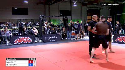 Paul Ardila vs Mason Fowler 2019 ADCC North American Trials