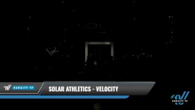 Solar Athletics - Velocity [2021 L3.2 Senior - PREP Day 1] 2021 The U.S. Finals: Kansas City