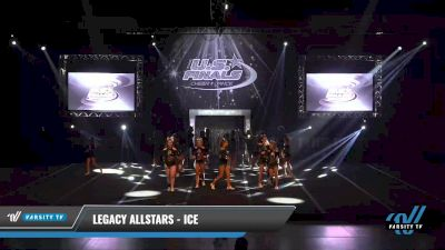 Legacy Allstars - ICE [2021 L4 Junior Day 1] 2021 The U.S. Finals: Sevierville
