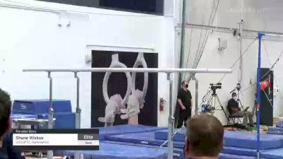 Shane Wiskus - Parallel Bars, U.S.O.P.T.C. Gymnastics - 2021 Men's Olympic Team Prep Camp
