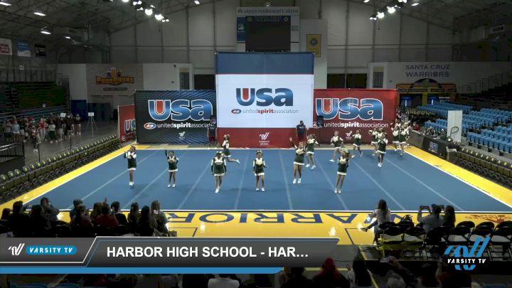 Harbor High School - Harbor High School [2021 Varsity Show Cheer Non Tumbling Novice Day 1] 2021 USA Reach the Beach Spirit Competition