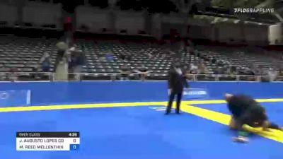 MICHAEL SEAN BECHTOLD vs MICHAEL REED MELLENTHIN 2021 World IBJJF Jiu-Jitsu No-Gi Championship