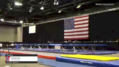 Emma Cox - Tumbling, The Flip Shop - 2021 USA Gymnastics Championships