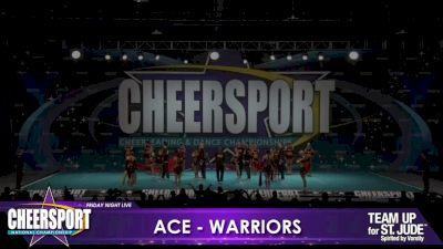 ACE Cheer Company - BHM - Warriors [2020 L6 Senior Medium Coed Day 1] 2020 CHEERSPORT Nationals: Friday Night Live