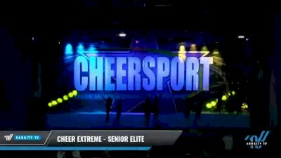 Cheer Extreme - Kernersville - Senior Elite [2021 L6 Senior - Large Day 2] 2021 CHEERSPORT National Cheerleading Championship