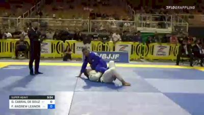 DAVI CABRAL DE SOUZA vs FELLIPE ANDREW LEANDRO SILVA 2021 Pan Jiu-Jitsu IBJJF Championship