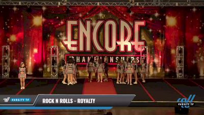 Rock N Rolls - Royalty [2021 L3 Senior - D2 Day 2] 2021 Encore Championships: Pittsburgh Area DI & DII