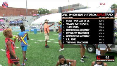 Girls' 4x400m Relay, Final - Age 14