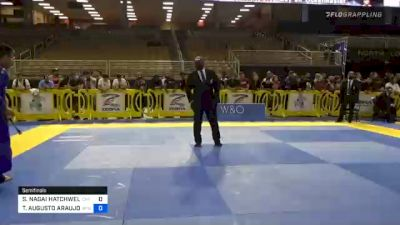 SAMUEL NAGAI HATCHWELL vs THIAGO AUGUSTO ARAUJO MACEDO 2020 Pan Jiu-Jitsu IBJJF Championship