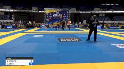 JAIME CANUTO vs DANTE LEON 2019 World IBJJF Jiu-Jitsu No-Gi Championship