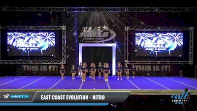 East Coast Evolution - Nitro [2021 L1 Youth - D2 - B Day 2] 2021 The U.S. Finals: Ocean City