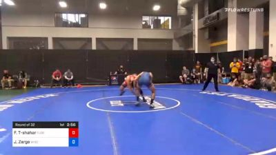 65 kg Prelims - Frankie Tal-shahar, Florida vs Joseph Zargo, Wisconsin Regional Training Center