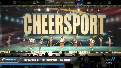 Elevation Cheer Company - Eminence [2021 L3 Senior - D2 Day 1] 2021 CHEERSPORT: Charlotte Grand Championship
