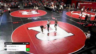 133 lbs Semifinal - Austin DeSanto, Iowa vs Roman Bravo-Young, Penn State