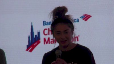 Greek Olympian Alexi Pappas Is Making Her Marathon Debut In Chicago