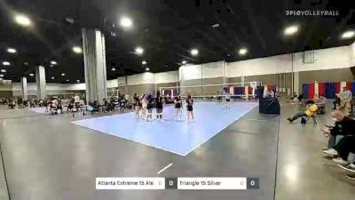 Atlanta Extreme 15 Alex vs Triangle 15 Silver - 2021 Capitol Hill Volleyball Classic
