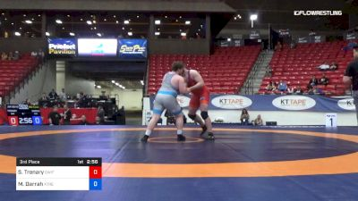 130 kg 3rd Place - Spencer Trenary, SWIFT vs Max Darrah, Xtreme Training