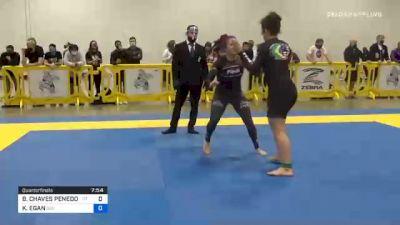 BETINA CHAVES PENEDO PEREIRA vs KATHLEEN EGAN 2020 IBJJF Pan No-Gi Championship