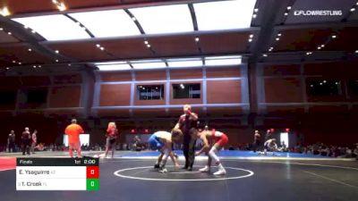 120 lbs Final - Emilio Ysaguirre, AZ vs Tom Crook, FL