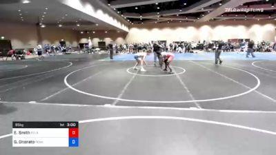 65 kg Consolation - Elias Smith, Delaware vs Gabriel Onorato, Pennsylvania RTC