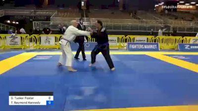 Gary Tucker Foster vs Thomas Raymond Kennedy 2020 World Master IBJJF Jiu-Jitsu Championship