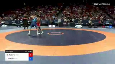 60 kg Round 2 - Dalton Roberts, Army (WCAP) vs Ildar Hafizov, Army (WCAP)