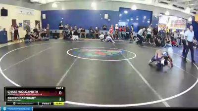 70 lbs Round 2 - Benito Barnhart, Naples Bears vs Chase Wolgamuth, Seminole County Wrestling Club
