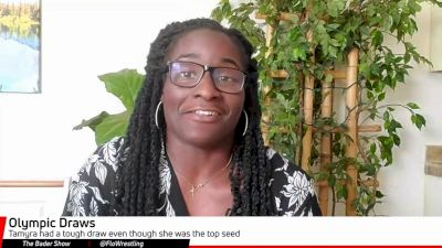 Tamyra Mensah Stock Didn't Know Who She Was Wrestling At The Olympics