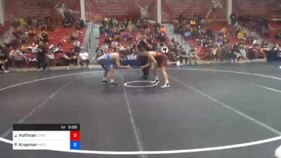 70 kg Prelims - Jimmy Hoffman, Lehigh Valley Wrestling Club vs Parker Kropman, Pennsylvania RTC
