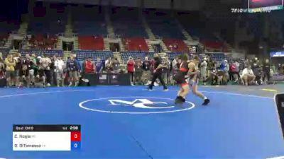 120 lbs Round Of 16 - Coleman Nogle, Maryland vs Dominic DiTomasso, Georgia