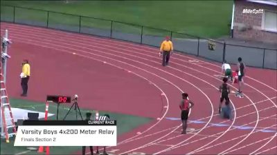 High School Boys' 4x200m Relay Varsity, Finals 2
